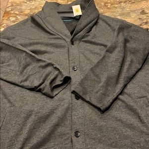 Perry Ellis Button up sweater